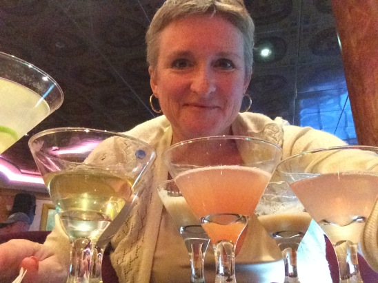 Best. Selfie. Ever.  Me and 7 martinis.