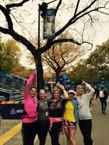 Honoring Kathrine Switzer, winner of the NYC Marathon in 1974.